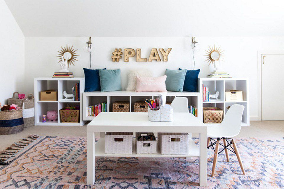 Những điểu cần lưu ý khi thiết kế không gian vui chơi tại nhà cho trẻ
