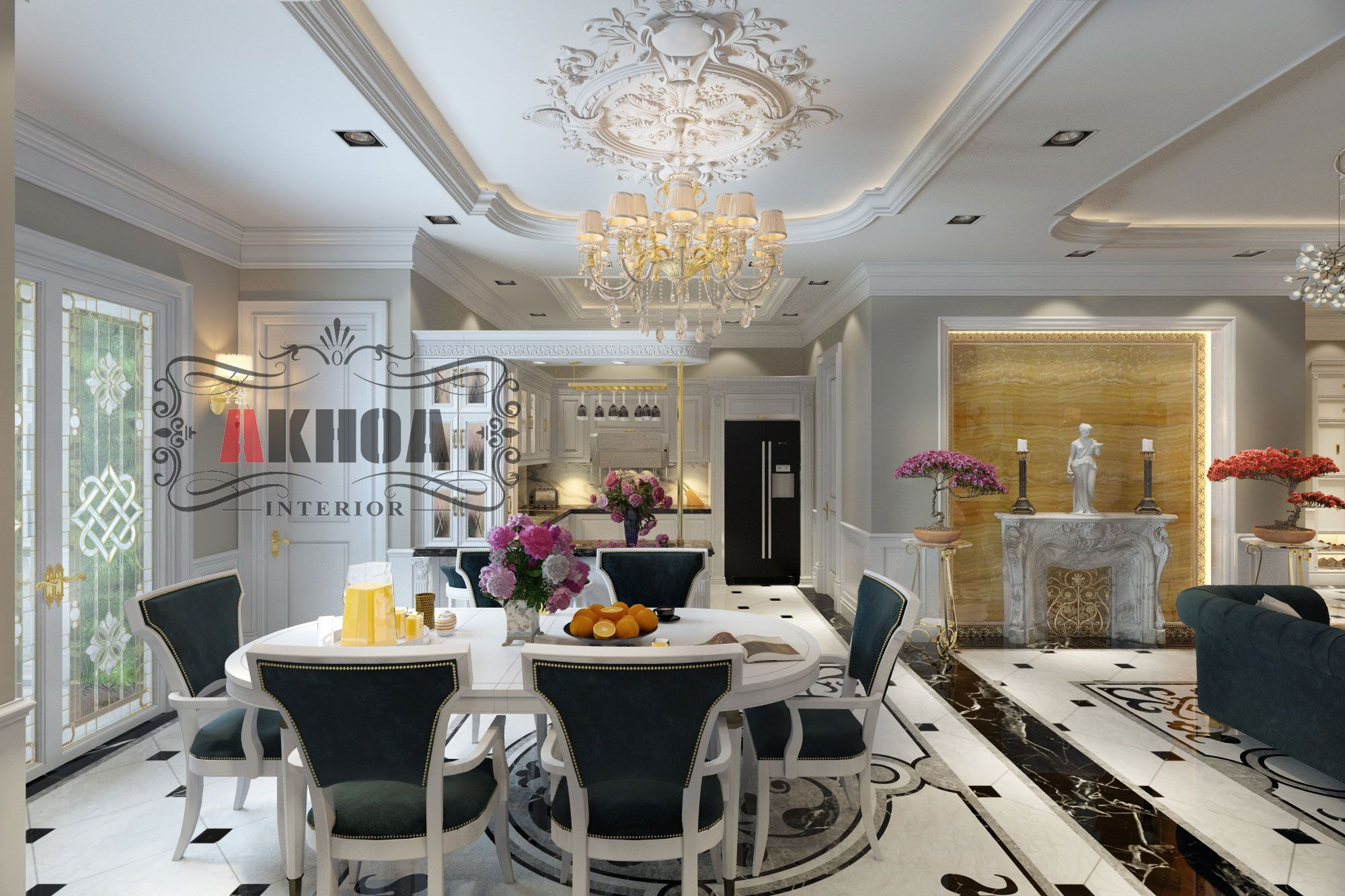 Thiết kế thi công dự án công chung cư cao cấp Mandarin