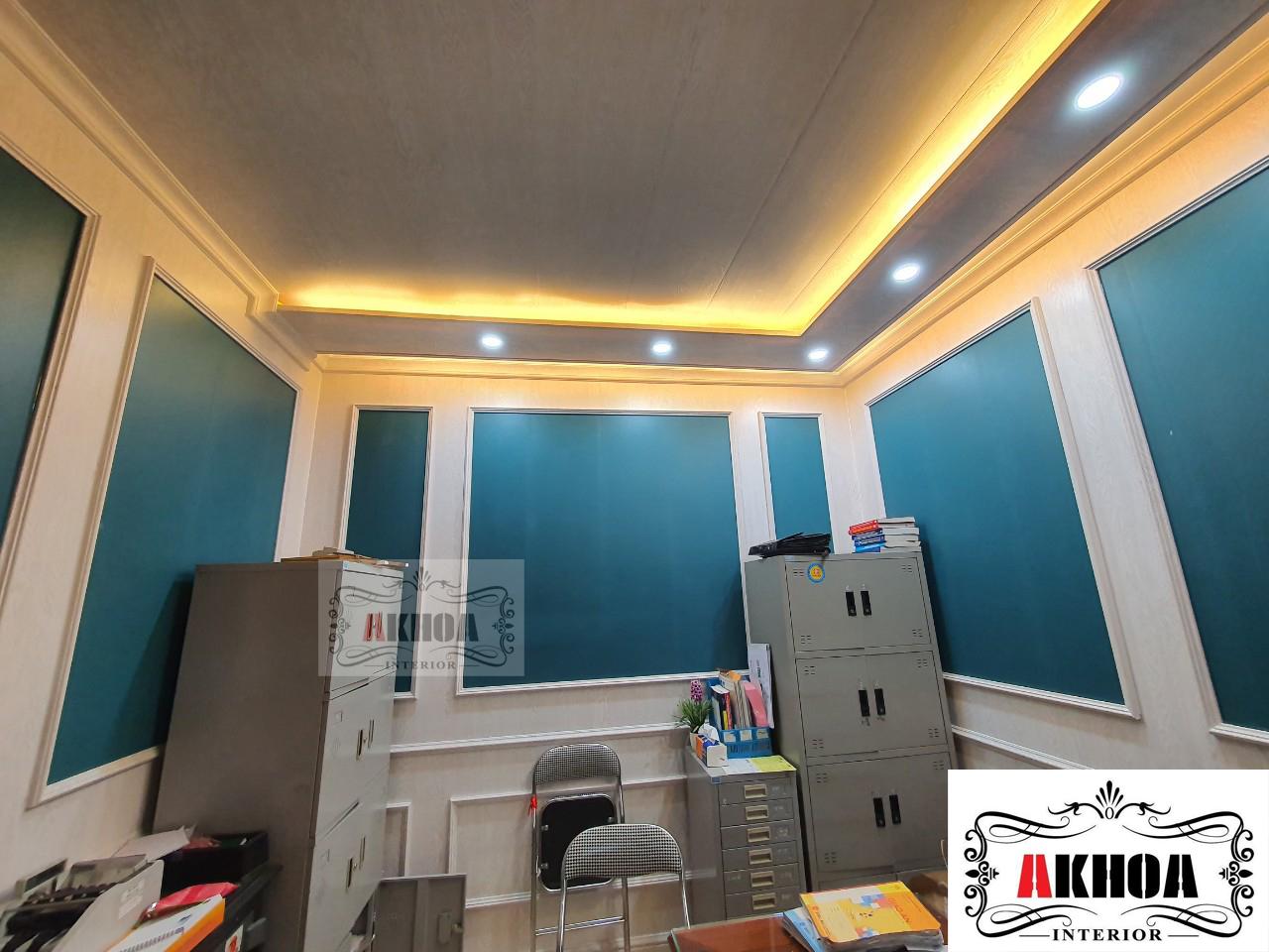 Tấm ốp tường PVC NaNo làm thay đổi không gian nhà bạn khang trang